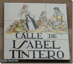Calle Isabel Tintero - Azulejo - Barrio de La Latina
