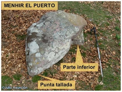Menhir El Puerto - Baigura