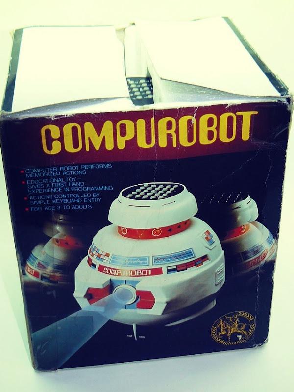 "Compurobot ""George"" Front Side"