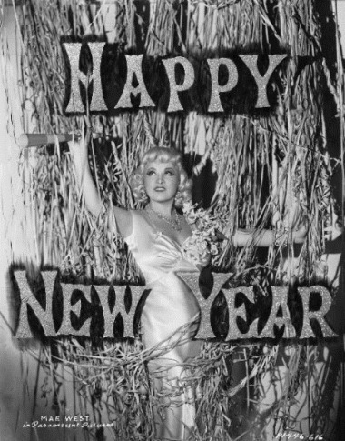 Mae West - New Years 1930s