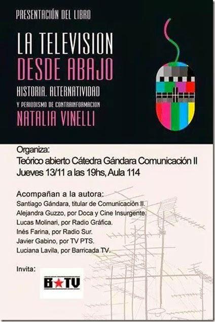 13 - 11 - 14 - Presentacion de La Televisión desde Abajo