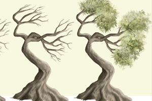 Make Trees in an Easy Way