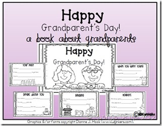 Grandparent&#39;s Day Book Pic