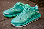 nike lebron 10 low gr green white 4 01 easter LEBRON X LOW, KOBE 8 and KD V   Nike Easter Collection