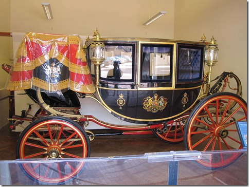 Glass Coach - famously known for taking Diana to the wedding