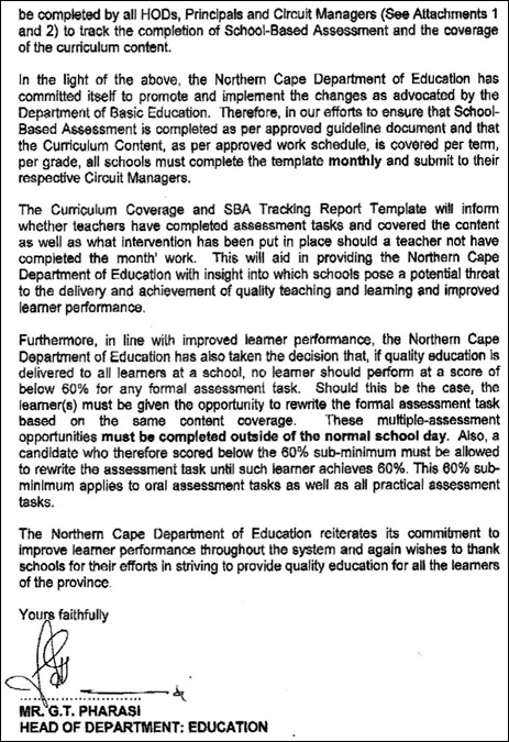 EDUCATION NOCAPE PAGE 2 MINIMUM ASSESSMENTS EVEN FOR RETARDEDMARCH2012 ORDER