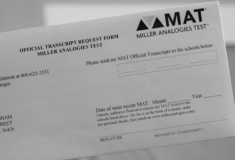 MAT Scores