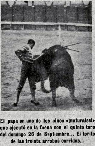 1915-09-26 (p 19151004 TKL) Joselito Madrid Santa Coloma 2