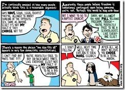 homophobic logic