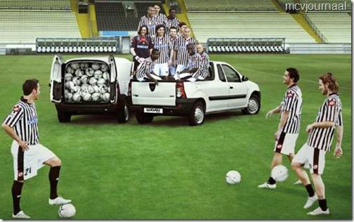 Dacia sponsor Udinese 05