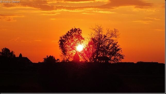 Sonnenuntergang orange 1