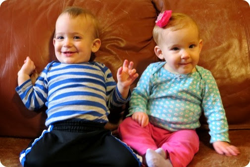 Liberty & Nehemiah 11 Months Old