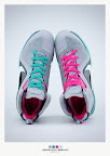 nike lebron 9 ps elite grey candy pink 9 46 sneakerbox LeBron 9 P.S. Elite Miami Vice Official Images & Release Date