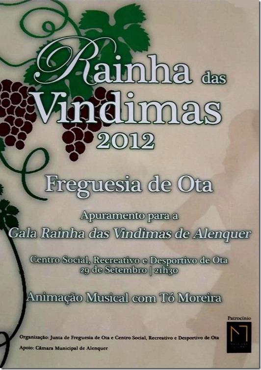 Rainha das vindimas 2012
