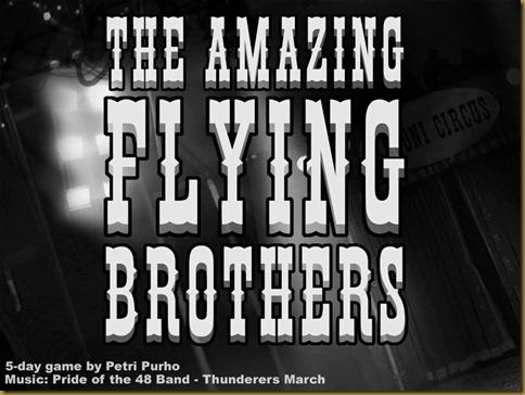 The Amazing Flying Brothers タイトル