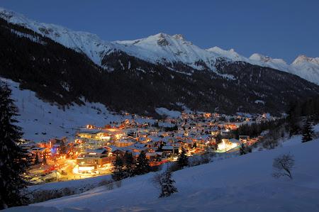 Statiune lux Austria: Arlberg, St. Anton