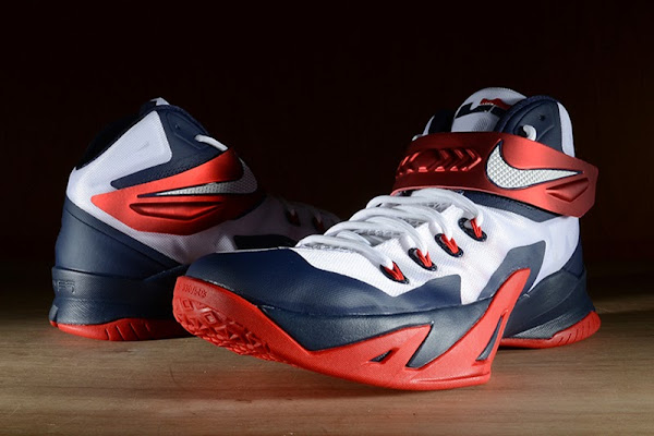 Release Reminder Nike Zoom LeBron Soldier 8 8220USA Basketball8221