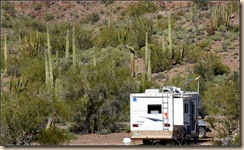 Boondocking spot.