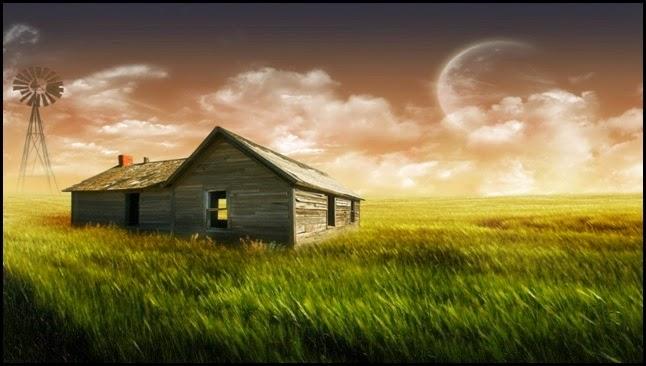Una casa en el campo