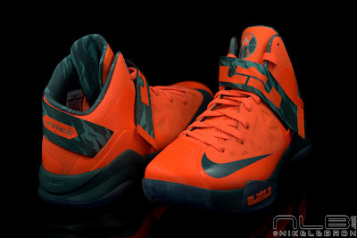 lebrons soldier6 orange camo 47 web black The Showcase: Nike Zoom Soldier VI Orange & Hasta Camo