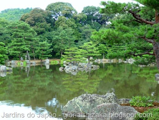 Jardins no Japão - Jardim Kinkakuji - Glória Ishizaka 1