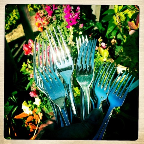 June - cutlery