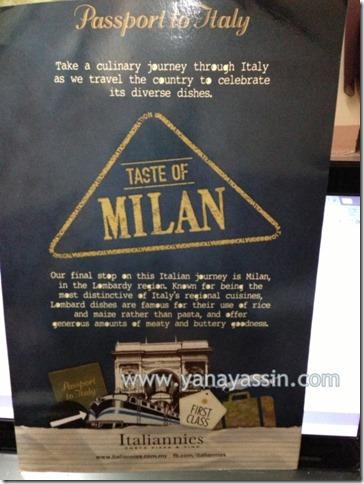 Italiannies makanan 539