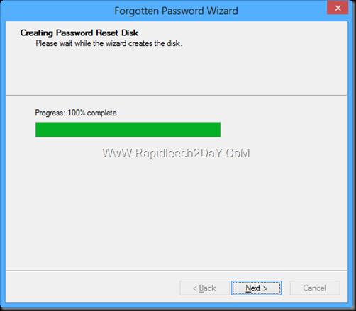Password Reset Disk windows 8 -4