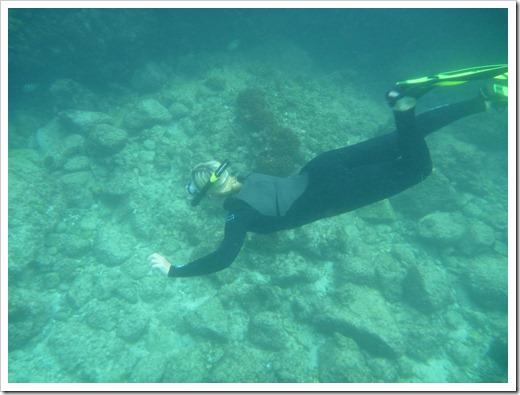 Balandra - Livia free diving