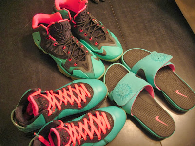nike lebron 11 id production south beach 1 03 Nike LeBron XI iD South Beach Build by Awsome Blossom