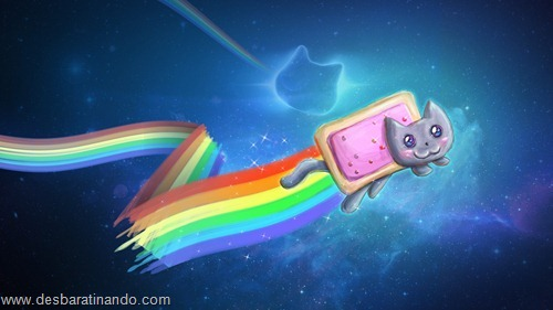 nyan cat wallpaper meme desbaratinando (6)