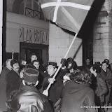 1973: la première  manifestation  devant l'hotel de ville de Bayonne