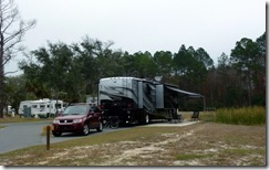 Cedar Key RV Resort site 83