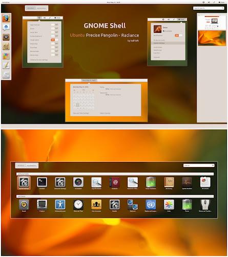 Ubuntu Precise Pangolin Radiance by half-left