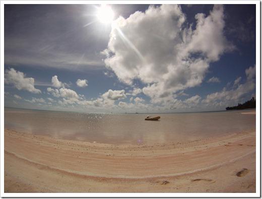 Fakarava atoll, W of the S pass
