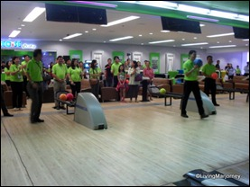 Opening of the SM City Fairview Bowling Center