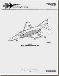 Phantom II  Proposed Conformal Fuel Tank