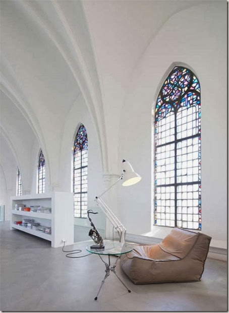 Gothic-Church-Turned-into-White-Contemporary-Home-in-2009-Reading-Desk-800x1098