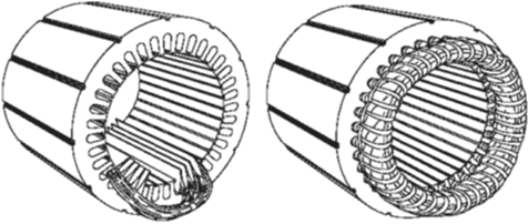 A Typical Stator
