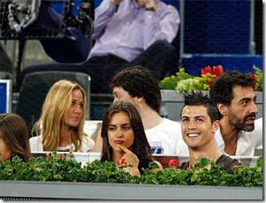 Ronaldo y su novia