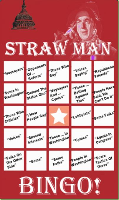 strawman bingo