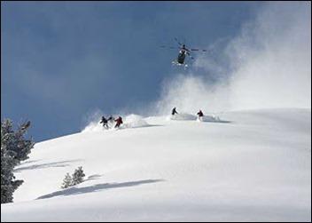 طائرات الهيليكوبتر للتزلج، كندا