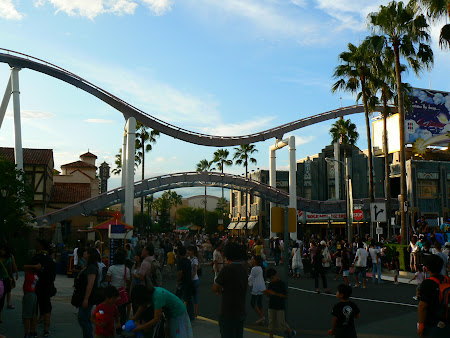 Imagini Japonia: thrill in Universal Studios Osaka