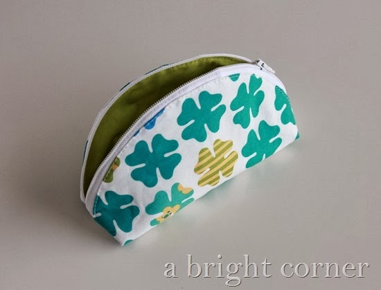 cute and easy dumpling pouch