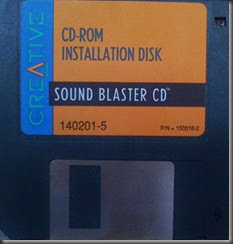 Disk4 CD-ROM Installation Disk - Sound Blaster CD