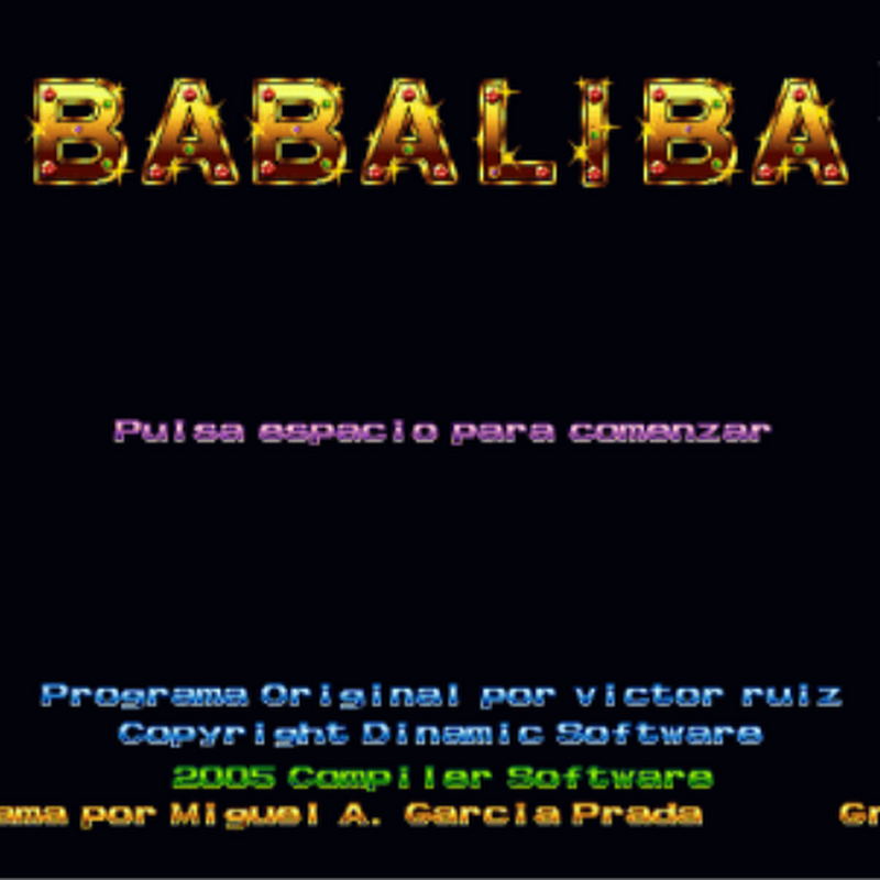 Babaliba is a video-adventure with fast movements and frenetic action.