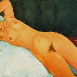 Modigliani, Nude with Necklace 1917