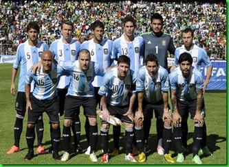 argentina frente a Bolivia