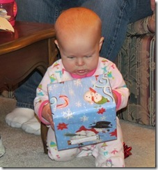 Ella studies her present