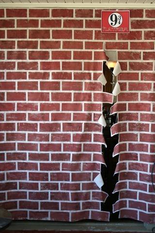 Harry Potter Brick Wall